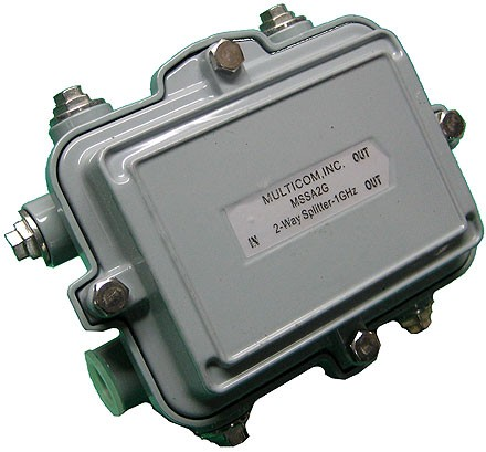 Multicom - MSSA2G - Splitter, Outdoor, 2 way