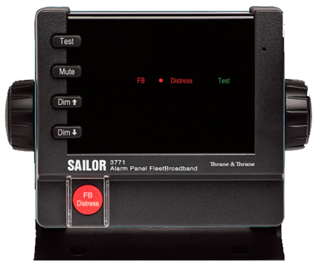 SAILOR 3771 ALARm PAneL