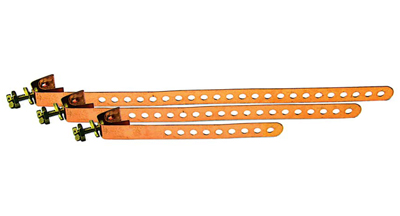 Copper Ground Straps UL Listed  6