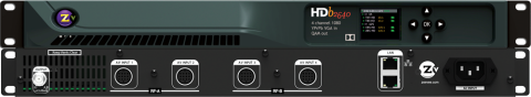 ZeeVee HDB2640 4 Channel HDbridge 2000 Series Encoder Modulator