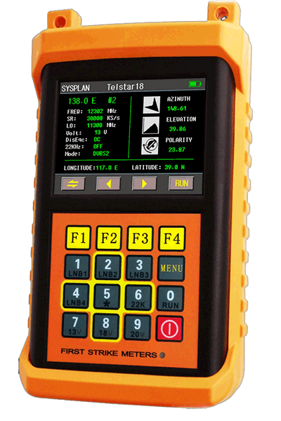 First Strike Satellite Meter and Finder FS1 ProHD