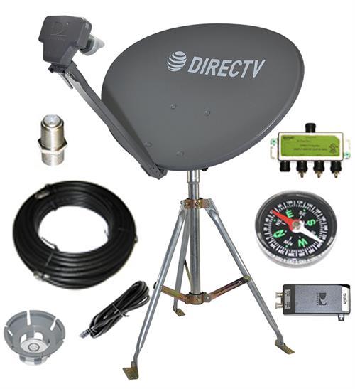 directv swm sl3s portable satellite rv kit for camping or. Black Bedroom Furniture Sets. Home Design Ideas