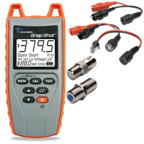 Snap Shot fault finding cable length measurement TDR