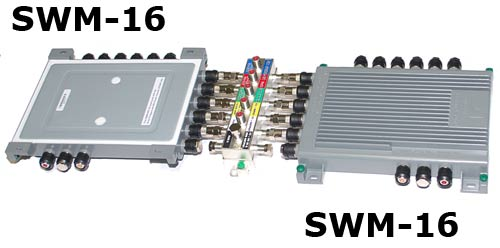 convert your swm 8 into a swm 16 for directv with power rh satpro tv SWM 16 Multiswitch Wiring-Diagram DirecTV Genie Connections Diagram