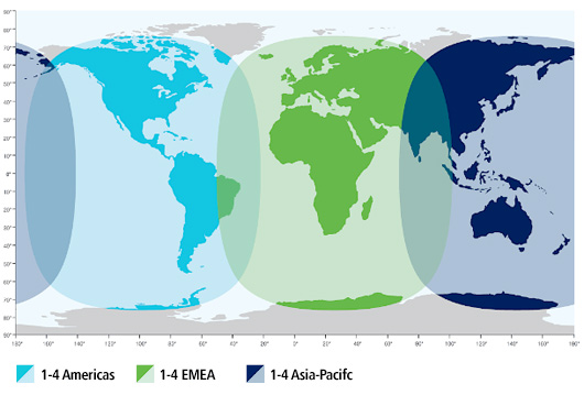inmarsat world map